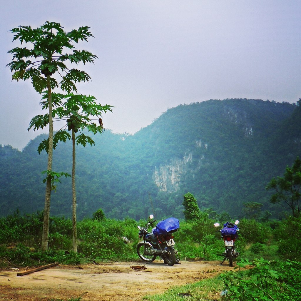 Vietnam in the mountains