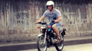 Тестирование купленных мотоциклов перед началом мото-путешествия.