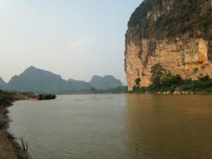 Город Cam Hui, северный Вьетнам. 160 километров мото-путешествия позади.