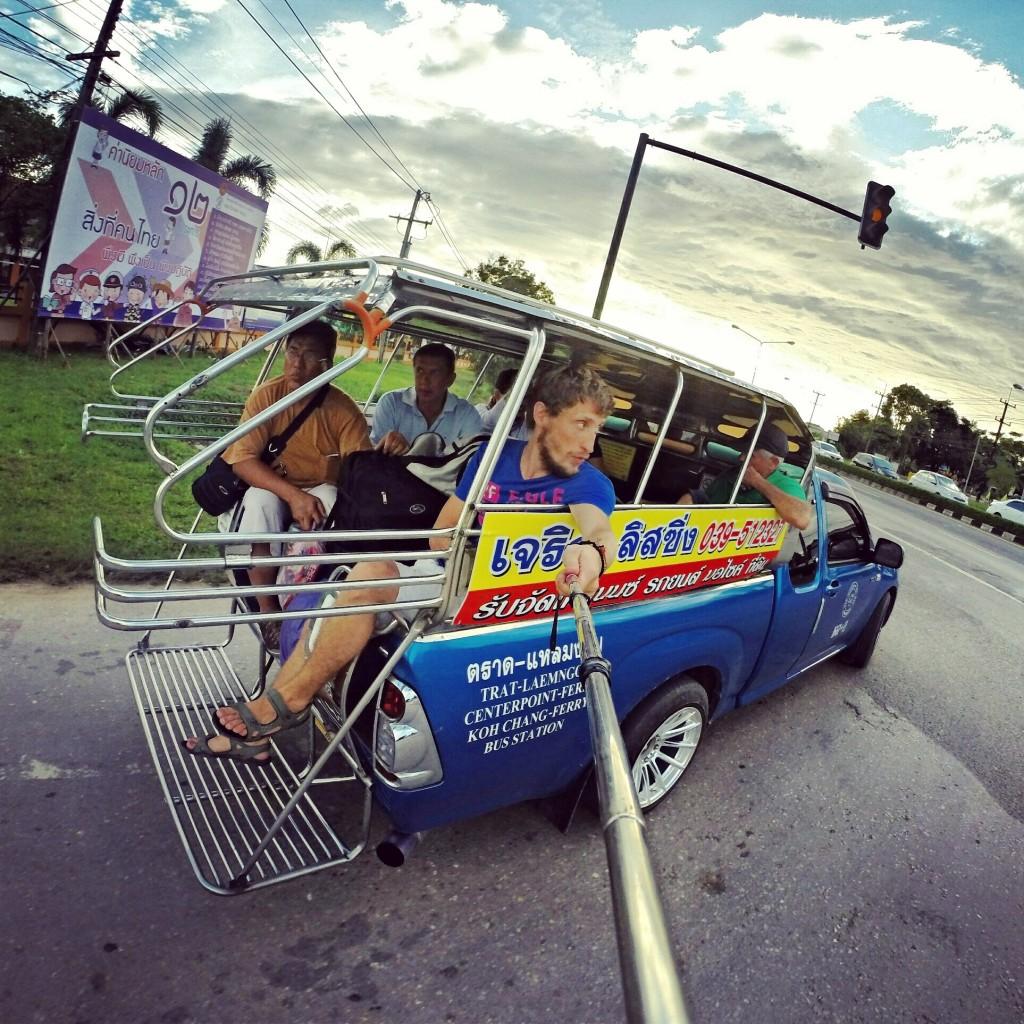 Один из восьми видов транспорта, который я сменил по дороге из Камбоджи в Таиланд.
