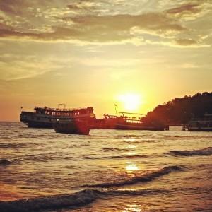 Пляж Серендепити. Сиануквиль, Камбоджа.