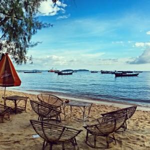Побережье сиамского залива. Город Сиануквиль, Камбоджа.